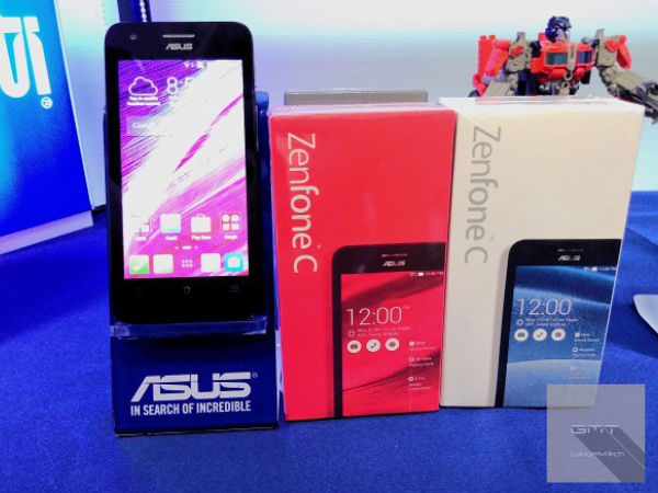 Asus Launches ZenFone C With 2100mAh Battery in Malaysia
