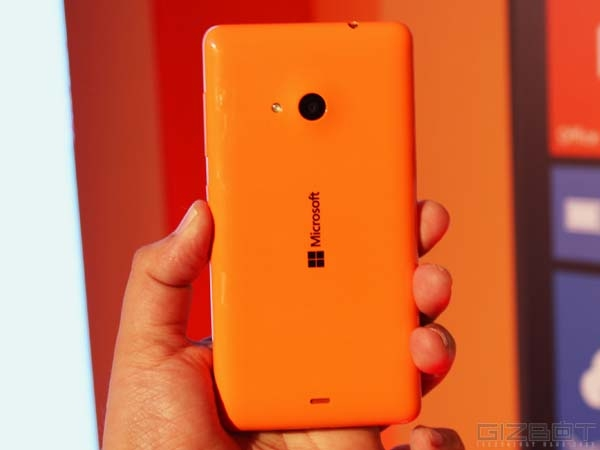 Microsoft Lumia 535 Offers 5MP Back Camera