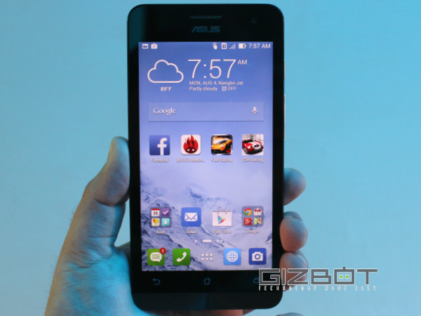 Asus ZenFone 5 Offers 8MP Back Shooter
