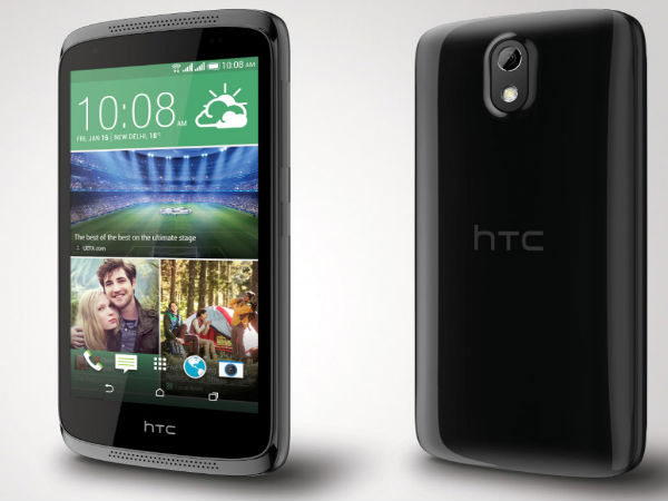 HTC Desire 526+ with Octa-Core Processor, Android KitKat Launched