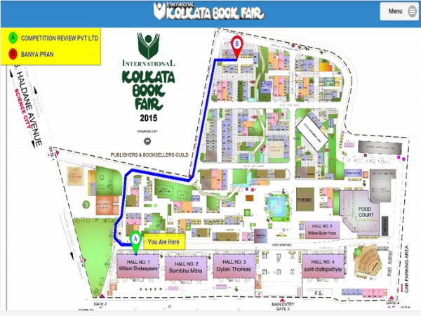 Smartphone App to Help Locate Book Stalls in Kolkata Book Fair