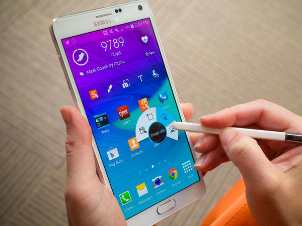 Samsung Galaxy Note 4: