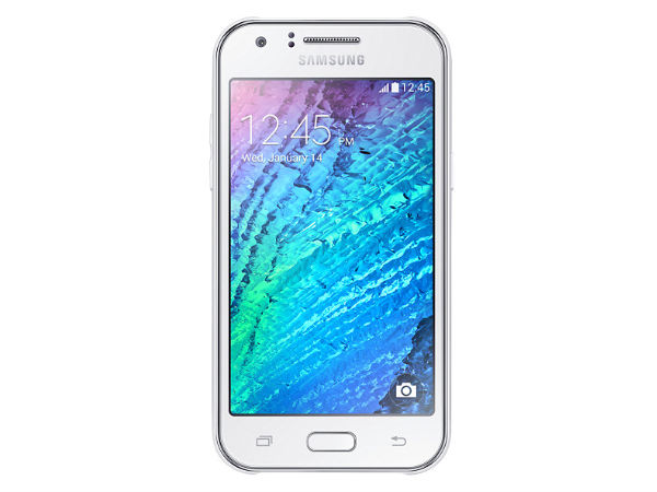 Samsung Galaxy J1 with 5MP Camera, Android  KitKat Leaked Online