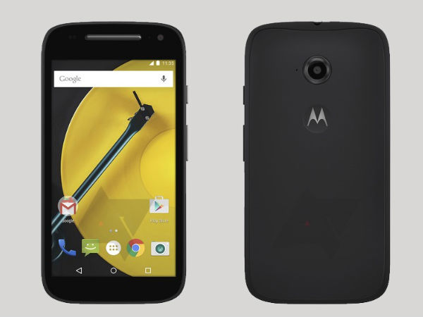 Moto E 2nd Generation Purported Images Leak Online