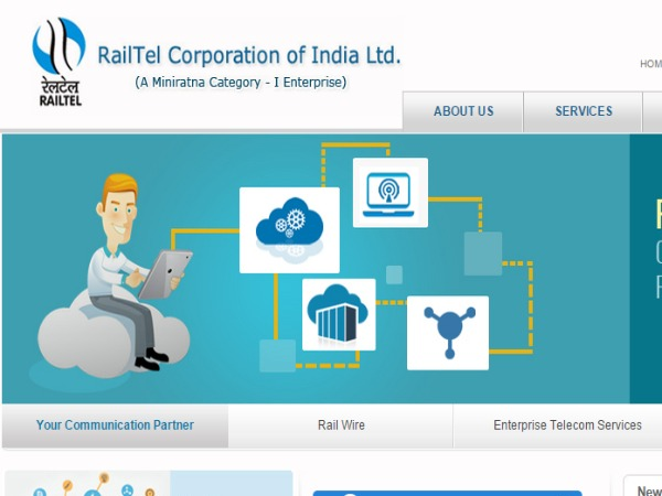 RailTel looks to Double Revenue to Rs 1,000 cr in 2 year
