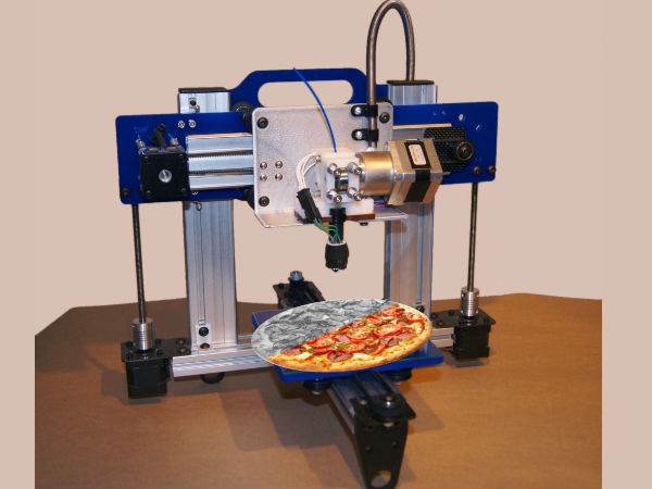 You Can Print Pizza Instead Of Ordering: