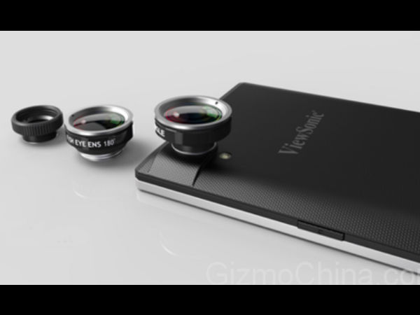 ViewSonic V55 with Iris Scanner Technology Tipped to Launch in CES