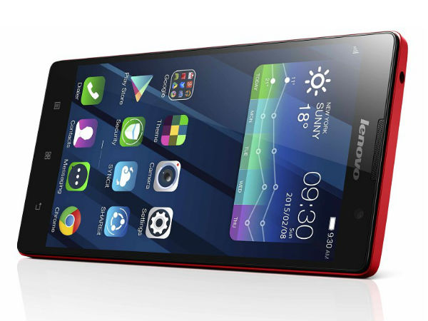 CES 2015: Lenovo P90 Smartphone Launched with Intel Processor Inside