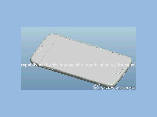 Samsung Galaxy S6 in Leaked Render Looks Like Apple iPhone 6