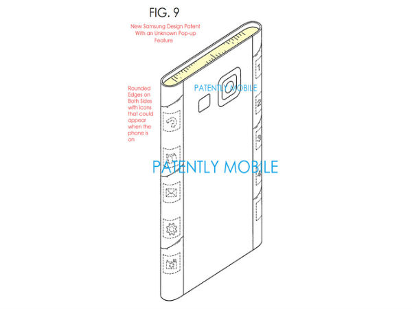 Samsung Patent Reveals Smartphone With Dual Edge Displays
