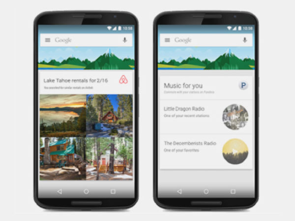 Google Now Updated with Support for 40 Third-party Apps