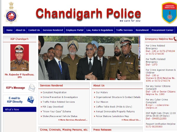 Chandigarh Police to introduce Tech-based Complaint Filing System