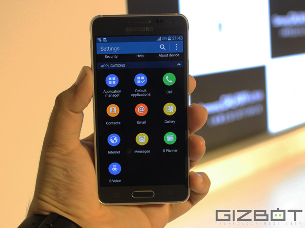 Samsung Galaxy Alpha Now Available Online For Rs 26,990