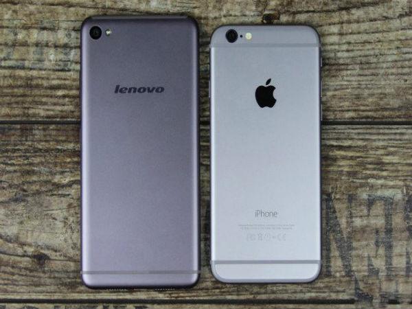 Lenovo Secretly Launches iPhone 6 Lookalike S90 Sisley In India