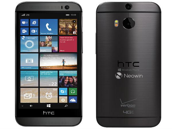 HTC One (M9) For Windows 10 Smartphone Details Leak Online