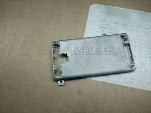 Samsung Galaxy S6 Metal Frame Leak Hints Towards Premium Design
