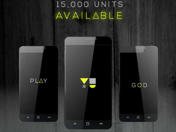 15,000 Yu Yureka Units to Go on Sale Today on Amazon