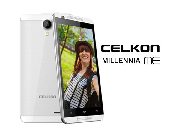 Celkon Millennia ME Q54 with 3G, 5MP Camera Launched at Rs 5,555