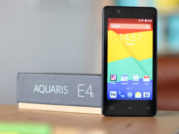 BQ Aquaris E4.5 World's First Ubuntu Base Phone now Official