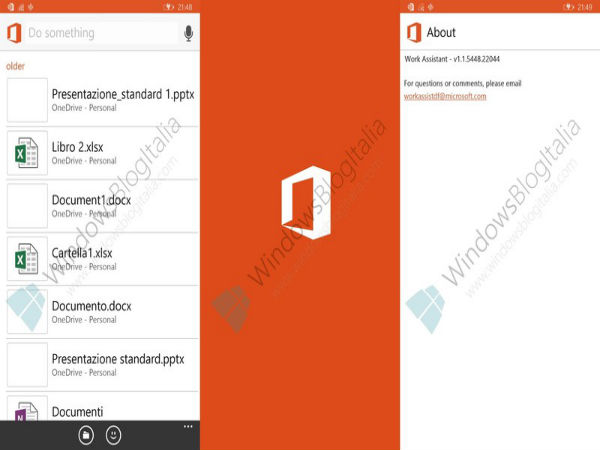 Microsoft Readying Cortana For Office with Work Assistant App [LEAK]