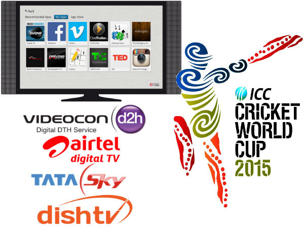 TV makers, DTH operators look to cash in on ICC World Cup