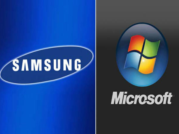 Samsung and Microsoft end patent dispute
