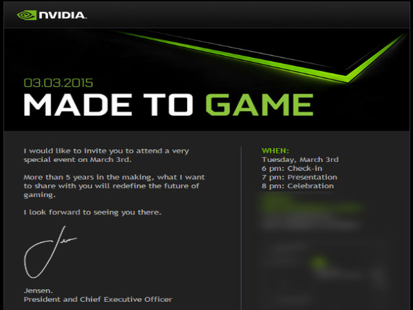 Nvidia Shield Tablet Successor With Tegra X1 CPU Could Debut Soon