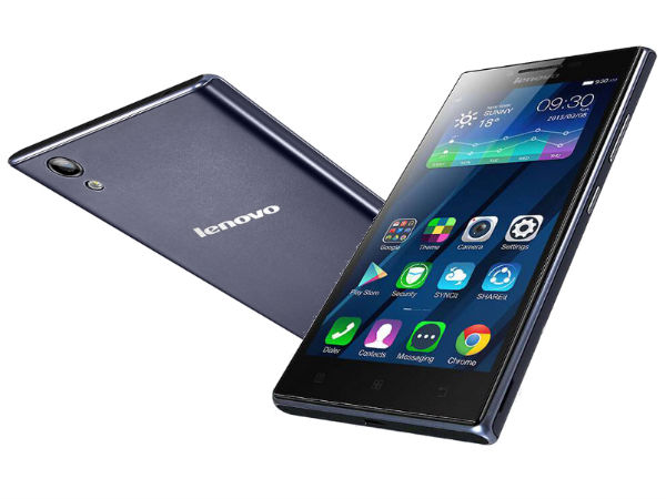 Lenovo P70: Lenovo Launches Another 4000mAh Battery Smartphone