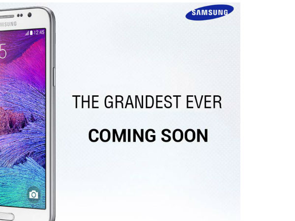 Samsung Teases New Smartphone Launch: Is It the Galaxy Grand 3?