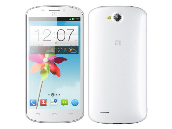 ZTE N919D: Another 8MP Camera Smarphone Launched at Rs 6,999