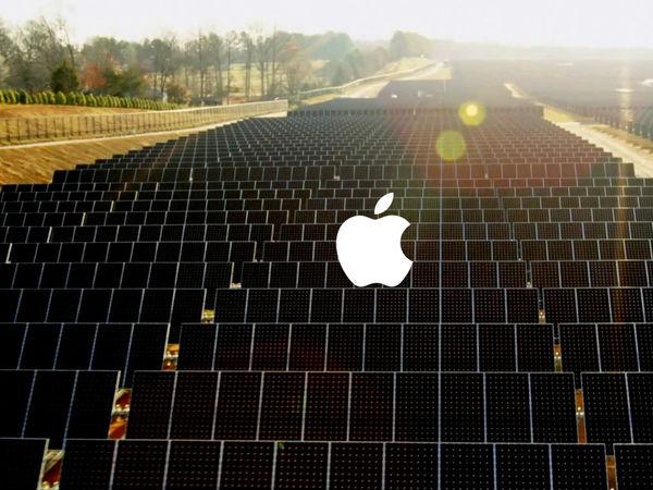 Apple Building Big Solar Energy Farm in California