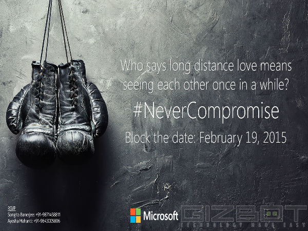 Microsoft Sends Invites for Mystery Event on February 19
