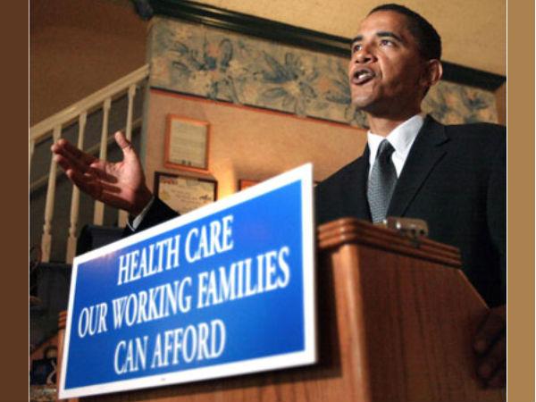 Obama sells healthcare plan via selfie stick