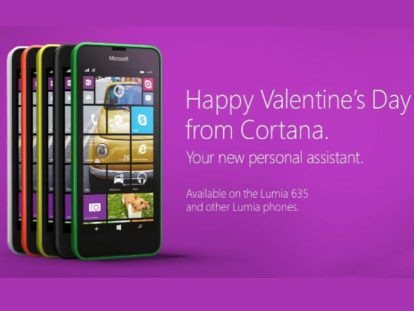 Microsoft's Cortana Promos Released for Valentine's Day