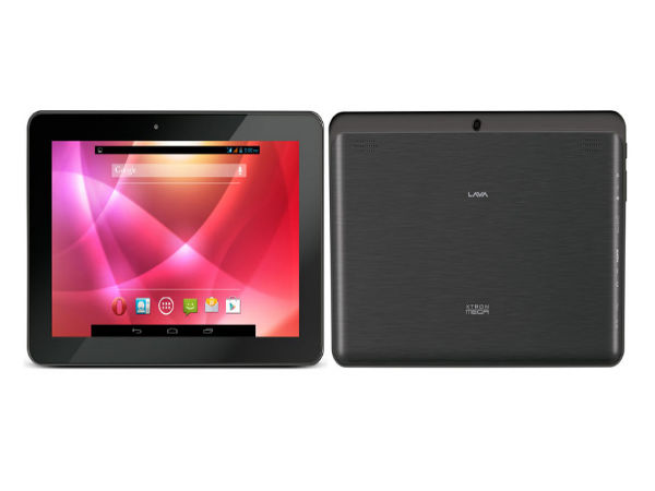 Lava XTRON MEGA with 10.1-inch Display, 16GB Memory Listed on Website