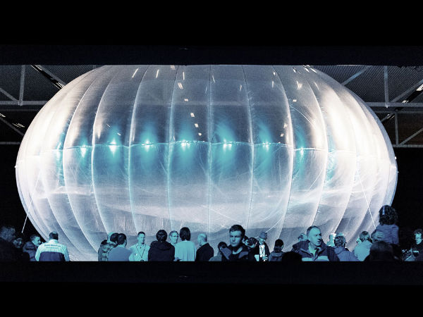 Google Plans On Bringing Ballon Powered Intenet In India