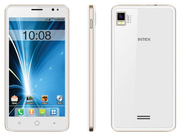Intex Aqua Star L with Lollipop 5.0, 3G to go on Sale From Today