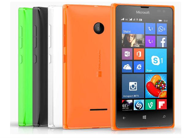 Microsoft Lumia 532 Dual SIM with Lumia Denim Update Launched