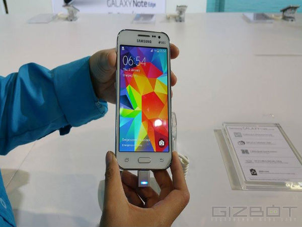 Samsung Galaxy Grand Prime 4G: Display