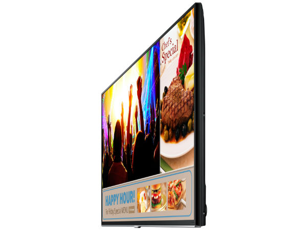 Samsung Smart Signage TV Launched in Samsung Forum 2015 Event