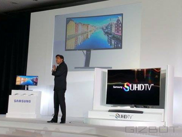 Samsung Showcases New SUHD TVs at Samsung Forum 2015