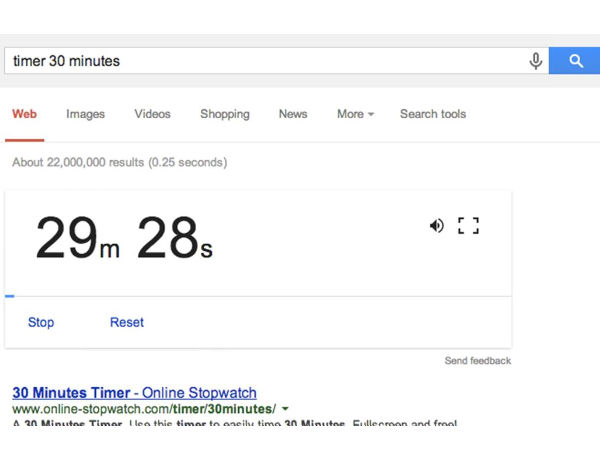 Google Time Setting Tool: