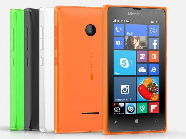 Microsoft launches Lumia 435, Lumia 532