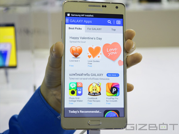 Samsung Galaxy A7 First Look: All Metal and Classy!