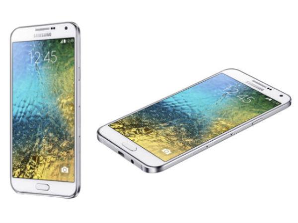 Samsung Galaxy E5 and Galaxy E7 gets Price Cuts