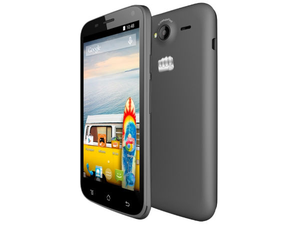 Micromax Bolt A82 with 3G, 5-inch Screen Launched at Rs 5,499