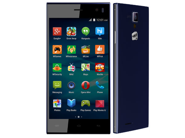 Micromax Canvas Xpress A99 Tastes Android Lollipop 5.0