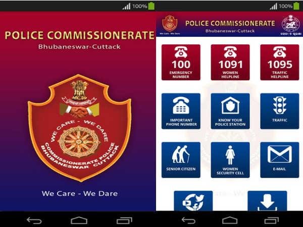 Commissionerate Police in Odisha to launch App for Women