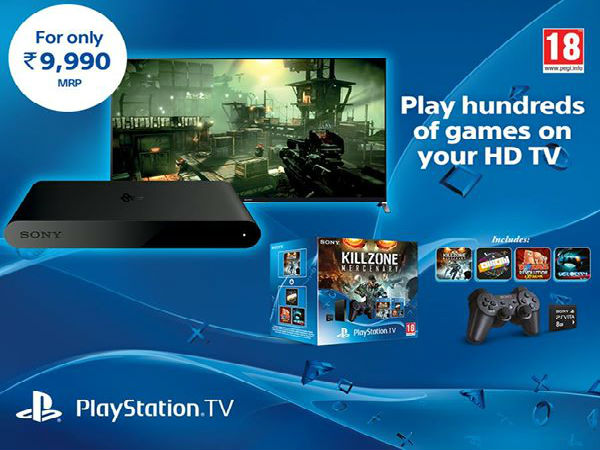 PlayStation TV Now Out in India, Priced at Rs 9,990