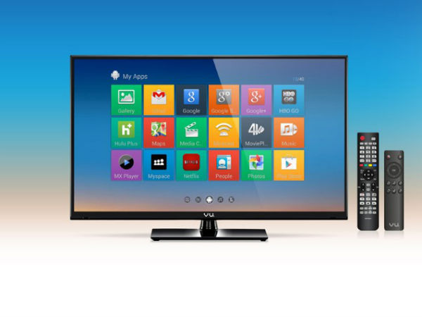 Vu Launches 15 New LED TVs to be Available on Flipkart